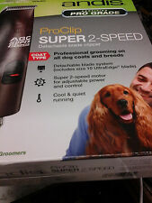 Andis AGC2 Super 2-Speed Pro Clip Ultra Edge Clipper #22360 NEW FREE SHIPPING