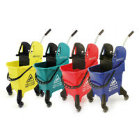 Charles Bentley Mop Bucket in Various Colours Made of Plastic with Wringer 31Ltr