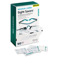 Bausch & Lomb Sight Savers Pre-Moistened Anti-Fog Tissues with Silicone 100/Pack