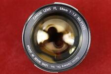 Canon FL 58mm f1.2  #31523