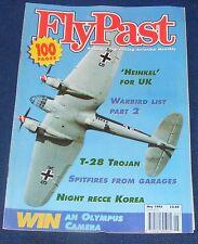FLYPAST MAGAZINE MAY 1995 - 'HEINKEL' FOR UK/T-28 TROJAN/NIGHT RECCE KOREA