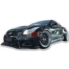 for G37 Q60 Coupe 08-13 14-15 Infinity GT body kit Front Lip+Canards GT-84FL+C