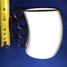 Knockout Fred Silver Knuckles 2009 Jean Christophe Karich Design Coffee Cup Mug