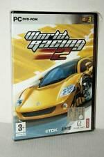 WORLD RACING 2 GIOCO NUOVO SIGILLATO PC DVD VERSIONE ITALIANA GD1 47977