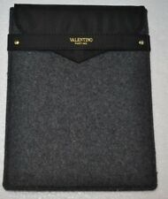 Valentino Parfums Grey Felt IPAD MINI Tablet Protector Case Pouch Bag PREOWNED