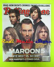 ROLLING STONE USA MAGAZINE 1034/2007 Maroon 5 Ben Arper Rilo Kiley Common No cd