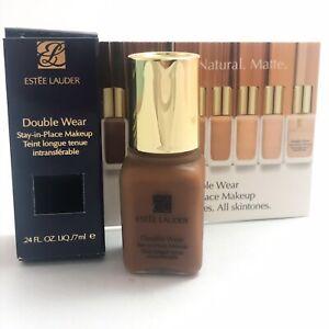 Estee Lauder Double Wear Stay-in-Place Makeup Deep Spice 7W1 .24fl oz/7ml sample
