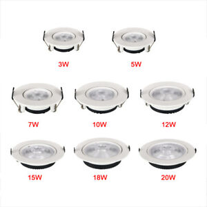 Ultra-thin Celling Rotatable LED Downlight COB Spotlight 3W 5W 7W 9W12W15W Light