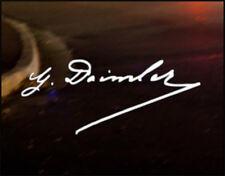 Gottlieb Daimler FIRMA AUTO ADESIVO DECALCOMANIA MERCEDES BENZ amg slk classe A
