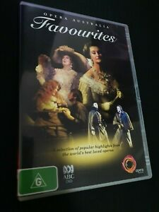 OPERA AUSTRALIA FAVOURITES DVD POPULAR HIGHLIGHTS FROM THE WORLD'S BEST R4