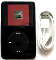 128GB iPod Classic Video 5th Gen Black Wolfson DAC SD Card New Battery SSD 120GB