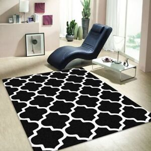 New Collection Contemporary Moroccan Trellis Design Floor Rugs Carpets All Sizes