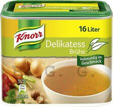 KNORR Germany - Delikatess Bouillon Big Box for 16 Liter