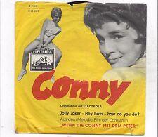 Conny Froboess :   Jolly Joker  +  Hey Boys - How Do You Do ? Vinyl Single 1959