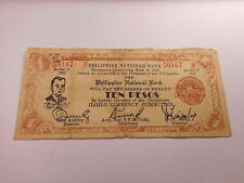 Philippines Emergency Currency PNB Iloilo - Low Price - 10 Pesos Nice - # 56167