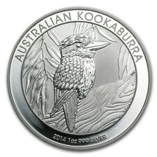 2014 Australia Perth Mint 1 oz .999 Silver Kookaburra - Fresh From Roll!