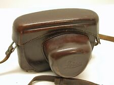LEICA ORIGINAL LEATHER EVEREADY CAMERA CASE..FITS EARLY M MOUNT BODIES..LA5