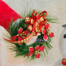1:12 Dollhouse Miniature Christmas Wreath  Garland Christmas Ornaments OP027
