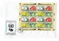 1996 United Nations Geneva -# 280-283 Full Sheet! Quality First Day Cover (CO89)
