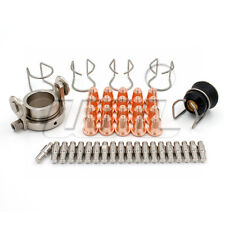 Roller Guide CV0024 Shield Cup Consumables for Trafimet S45 Plasma torch 47pcs