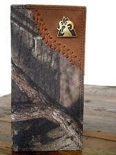 Rocky Western Mens Wallet Rodeo Mossy Oak Rocky Ram Concho Brown RBW172