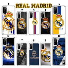 Caso de fútbol Real Madrid para Samsung Galaxy S10 Lite S20 A10 A40 A41 A51 A21s