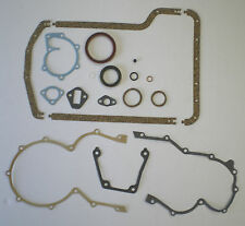 BOTTOM END SUMP GASKET SET CAPRI GRANADA SCIMITAR TVR V6 ESSEX 2.5 3.0 BLOCK