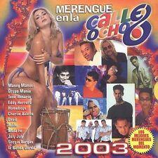 Various Artists : Merengue En La Calle Ocho 2003 CD