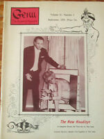 1970 Genii Magician Magazine - The New Houdinys; The Silk Finding Rod Trick