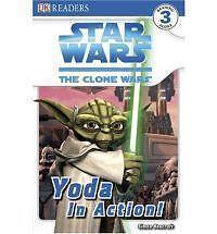 DK Readers L3: Star Wars: The Clone Wars: Yoda in Action! - Good - Beecroft, Sim