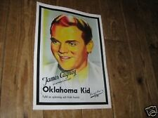 James Cagney Oklahoma Kid Advertising Repro POSTER