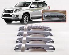 New Chrome Door Handle Cover Trim for Toyota Land Cruiser Prado J 150 FJ150