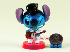 Cake Topper Disney Resort Hong Kong Stitch Club House Decor Diorama Guitar A335
