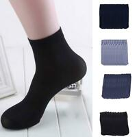 10Pairs Bamboo Fiber Ultra-thin Elastic Silky Short Silk Stockings Men Sock Gift
