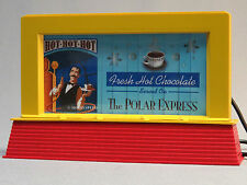 LIONEL POLAR EXPRESS OPERATING BILLBOARD PLUG-n-PLAY train accessory 6-83455 NEW