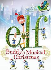 Elf: Buddys Musical Christmas (DVD, 2015) NEW