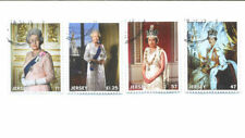 Elizabeth II (1952-Now) Royalty Jersey Regional Stamp Issues