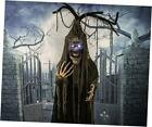 Hhtree-1fls Life-size Animated Haunted Talking Tree Prop W/moving Color 1
