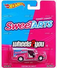 CUSTOM 52 CHEVY Sweetarts - 2017 Hot Wheels Pop Culture NESTLE WONKA