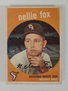 1959 TOPPS Nellie Fox