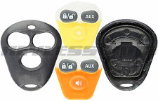 Key Fob Shell Case for Viper Dei Aftermarket Alarm Remote Starter Systems 3btn