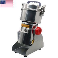 700g Grains Spices Hebals Cereals Coffee Dry Food Grinder Mill Grinding Us