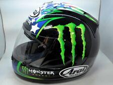 Arai Full Face Helmet RX7 Corsair John Hopkins MONSTER Energy Medium Moto GP