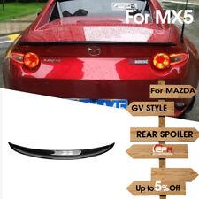 For MAZDA MX5 ND5RC Miata Roadster GV Style FRP Fiber Ducktail Rear Spoiler Wing
