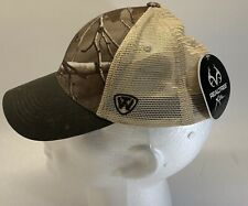 Top Of The World Realtree Fishing Cap Trucker Hat Camo Adjustable -Free Shipping