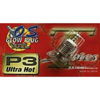 O.S. Glow Plug P3 Turbo Ultra Hot Engine Racing 1/8th Off Road Nitro