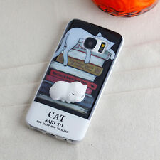 New 3D Protective Washable Squishy Read Cat Case Cover for Samsung Galaxy S8