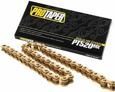 Pro Taper 520MX Chain 520 MX 120 Links GOLD 125c 250 350 450 530 CRF KXF YZF KTM