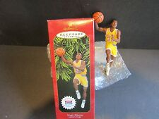 NEW! HALLMARK Magic Johnson Lakers~#3 in Hoop Stars~1997~Trading Card Included