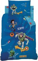 Disney Toy Story Buzz Lightyear Pinball Reversible Single Bed Duvet Cover Set